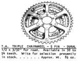 T.A.  5 pin triple rings