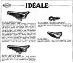 p39 Ideale saddles, leather