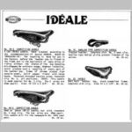p39 Ideale saddles, leather_t