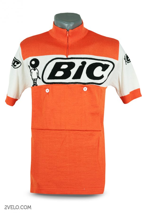 Wool cycling jersey – 2velo- BIC front