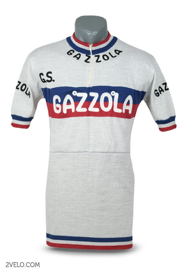 Wool cycling jersey – 2velo- Gazzola front