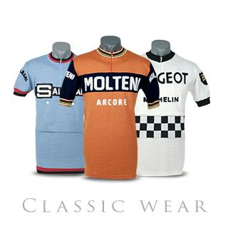 Classic cycling wear