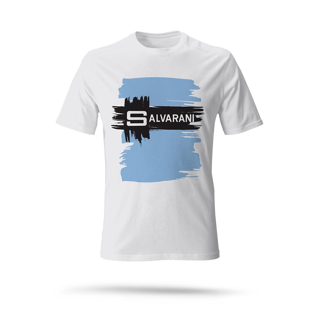 Salvarani cotton t shirt - cycling team - 2velo 657888184