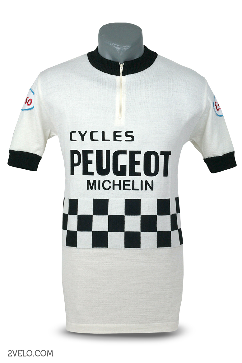 PEUGEOT vintage cycling Jersey. wnA7ux3s